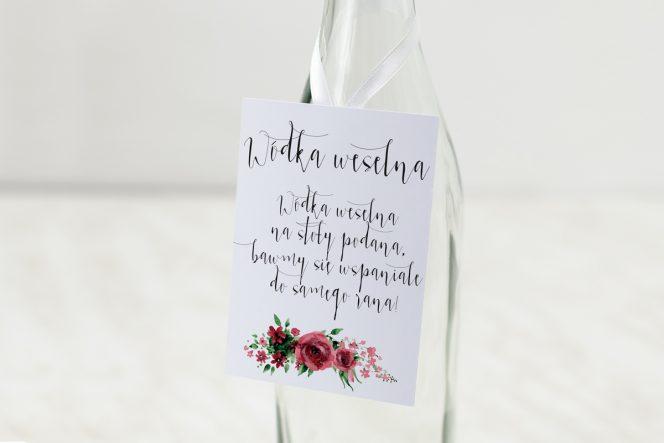Zawieszki na alkohol na wesele